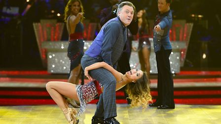 Ed Balls and Katya Jones during a photocall for the launch of Strictly Come Dancing Live Tour. Pictu