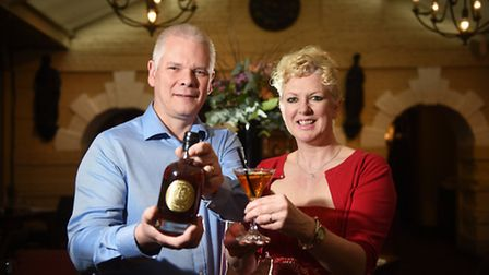 Launch of Nelson's Gold Caramelised English Vodka. Founders, Matt and Steph Brown.Picture: ANTONY K
