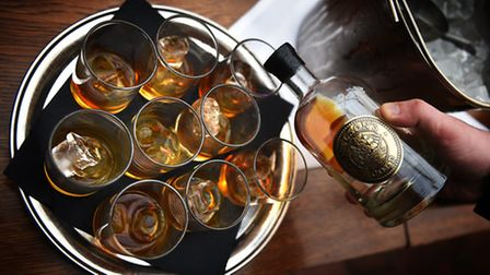Launch of Nelson's Gold Caramelised English Vodka.Picture: ANTONY KELLY