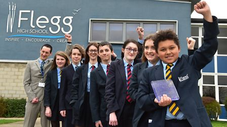 Flegg High school, Martham have been named the secondary school winners in the Norwich and Norfolk e