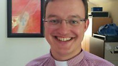 The Rev Andrew North, musical director and curate in Mulbarton.