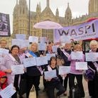 The PAIN-WASPI group at the last demonstration in London. Picture: PAIN-WASPI