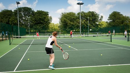 Great British tennis weekend at Eaton Park in Norwich. Photo: Bill Smith