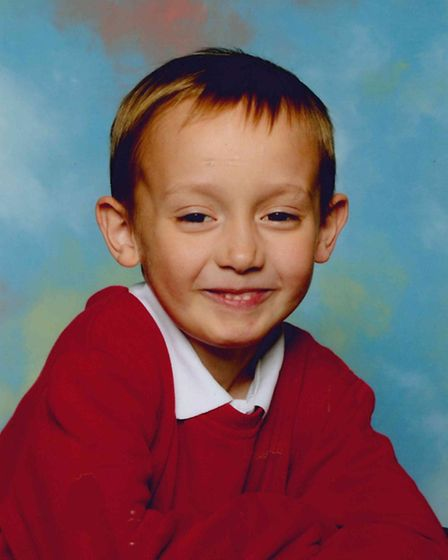 Cameron Moore, whose father Richard Moore was killed in an attack in McDonald's, Haymarket, Norwich,
