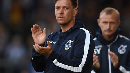Bristol Rovers manager Darrell Clarke is being linked with Norwich City. Picture: Joe Giddens/PA Wir