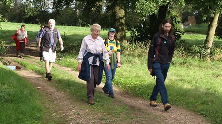 The Dereham Walkers Are Welcome walk on Sunday, October 2.