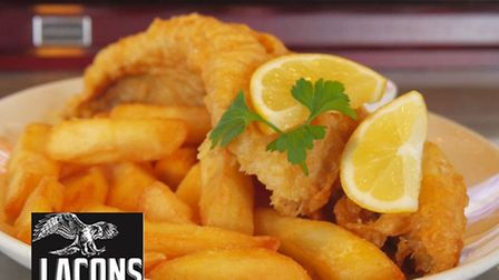 Fish and chips at The Rib of Beef. Photo: Submitted.