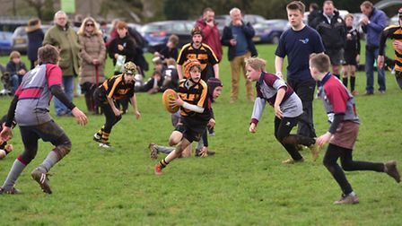 North Walsham Rugby Club host a mini rugby festival for junior teams from around the county.Southwo