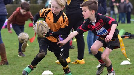 North Walsham Rugby Club host a mini rugby festival for junior teams from around the county.Swaffha
