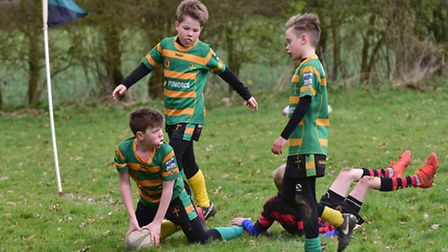 North Walsham Rugby Club host a mini rugby festival for junior teams from around the county.Crusade