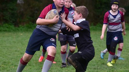 North Walsham Rugby Club host a mini rugby festival for junior teams from around the county.Holt Un