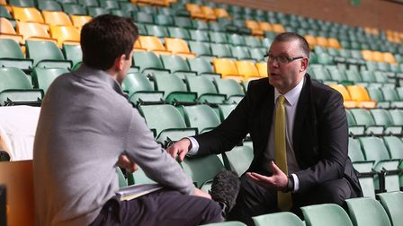 Norwich managing director Steve Stone aims to put the fans firmly in the picture. Picture: Paul Ches