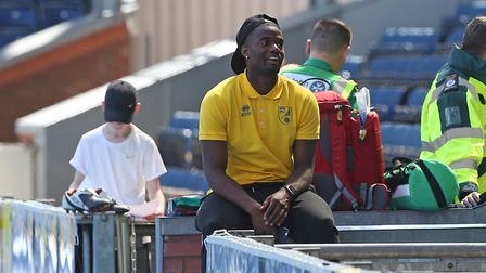 Sebastien Bassong is out of contract at Norwich City in the summer. Picture Paul Chesterton/Focus I