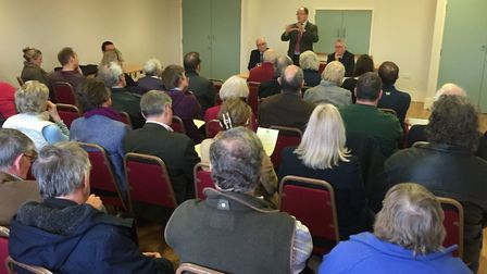 Mid Norfolk MP George Freeman held a summit of community and business leaders in Dereham to discuss