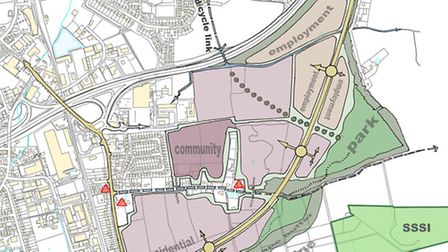 Dereham Town Council has revealed its vision for the town's development over the next 20 years, focu
