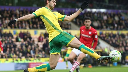 Nelson Oliveira in action against Barnsley following his return from injury. Picture by Paul Cheste