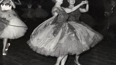Liz Nice's mum, Sally, back in her dancing days. Photo submitted by Liz Nice