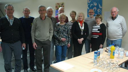 Members of the Rotary Club's quiz team that was among those taking part in the annual quiz at Lynn G