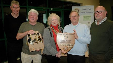 The White Swan pub team proved unbeatable in this year's annual Rotary Club of Great Yarmouth quiz.