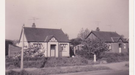 The Parker family bungalow in Ormesby. When Margaret Parker died without a will it was left to her o