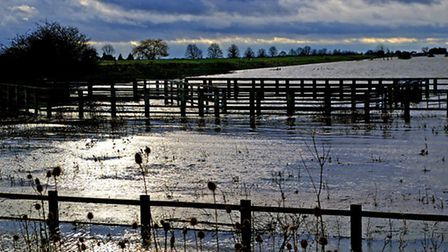 The Fens in Waterland are not clearly identified but said to be between Kings Lynn and Ely like Weln