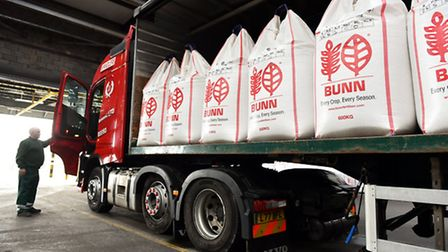 Bunn Fertiliser Limited Great Yarmouth Terminal Commemorate 200 years of manufacturing. Picture: Ja