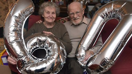 Jill and Philip Armes celebrated their 60th wedding anniversary in December 2016. Picture: DENISE BR
