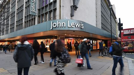 The John Lewis store on Oxford Street in London. Photo: Charlotte Ball/PA Wire