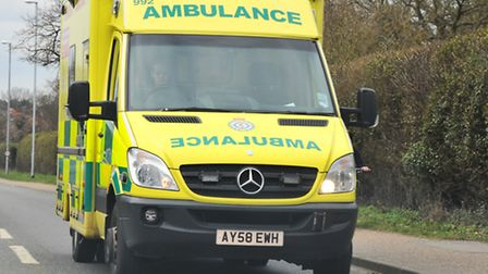 East of England Ambulance Service. Picture Simon Finlay.