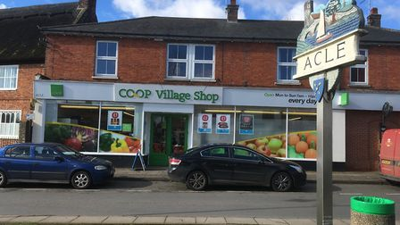 Acle's Village Coop, which is closing to make way for a new shop on Norwich Road Picture: David Hann