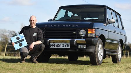 Rob Marsden's classic Range Rover was featured in Ed Sheeran's music video 'Castle on the Hill'. Pic