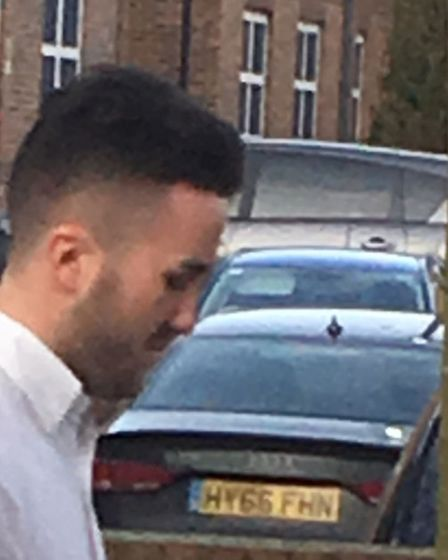 Jamie Wells as he left Norwich Magistrates Court. Picture: Archant staff.