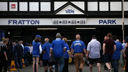 Portsmouth fans arrive at Fratton Park: Is it time for the Canaries to look at their business model