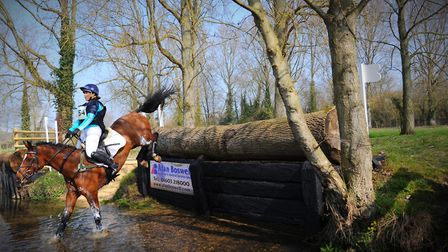Action from the popular Great Witchingham International Horse Trials at Blackwater Farm. Picture: St