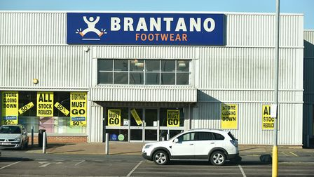 The former Brantano Footwear store on Gapton Hall Retail Park, Great Yarmouth., which was not includ