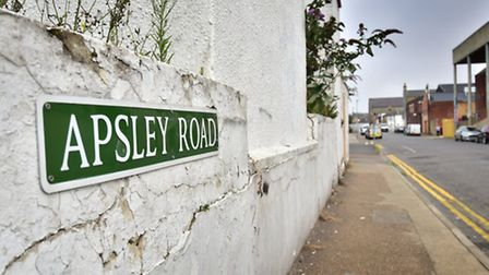 Apsley Road, Great Yarmouth. Picture: ANTONY KELLY