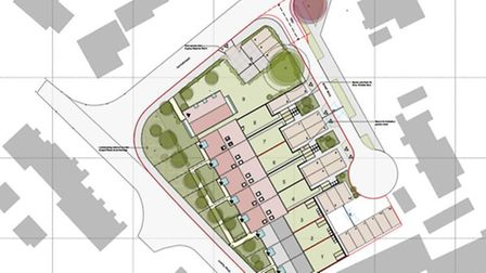 Plans have been made for new homes to be built on part of the site currently occupied by Chapel Road