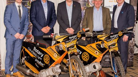Poultec Training in Mattishall joined forces with King�s Lynn Rotary Club and King�s Lynn Speedway t