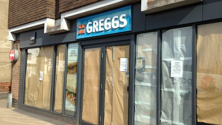 Greggs in Mere Street Diss picture: SABRINA JOHNSON