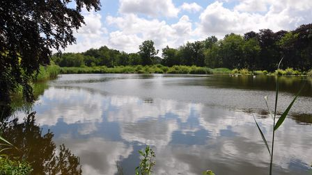 Opponents claim the wind farms will ruin views at beauty spots including Selbrigg Pond. Picture: Ian