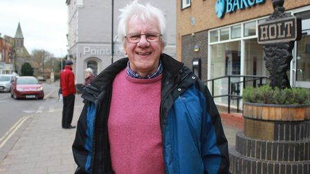 North Norfolk district councillor Philip High, who has retired after 22 years in local government. P