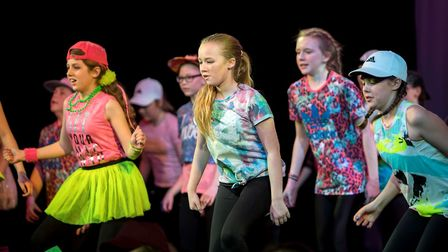 Performers from Dereham Neatherd High School at their dance show Dynamic. Pictures: Michael Lyons