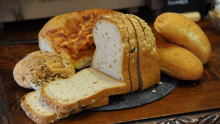 . A selection of gluten-free breads. Picture: DENISE BRADLEY