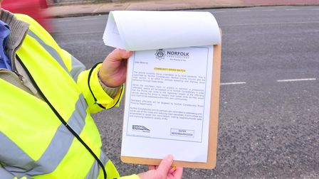Community Speed Watch. Picture: NICK BUTCHER