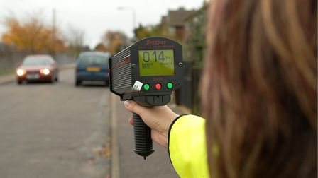 Community Speed Watch. Picture: JAMES BASS
