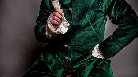 Nicholas Collett stars in Your Bard. Picture: Peter Mould