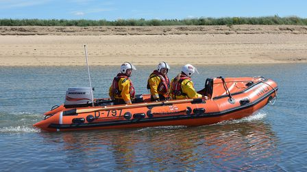 Wells Inshore Lifeboat. Picture: Chris Bishop