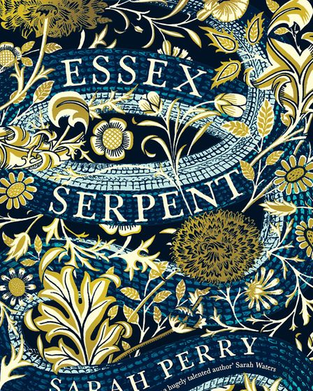 The Waterstones Winter Edition of The Essex Serpent by Sarah Perry published by Serpent's Tail, whic