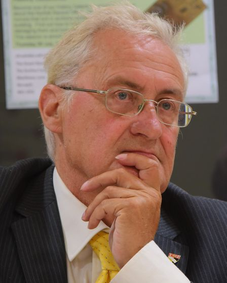 Cllr George Nobbs(pictured), leader of the Council, Cllr Toby Coke, chairman of the Environment, De