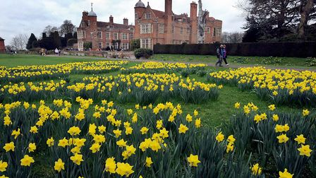 Spring at Kentwell Hall